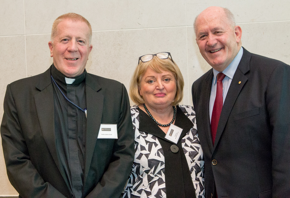 Father James Grant Foundation Luncheon w Governor General Sir Peter Cosgrove on Youth Unemployment